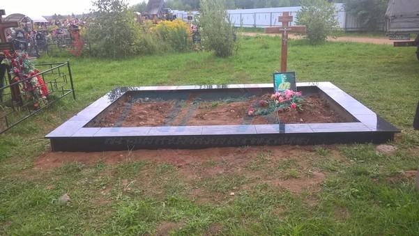 фото фундамента для памятника