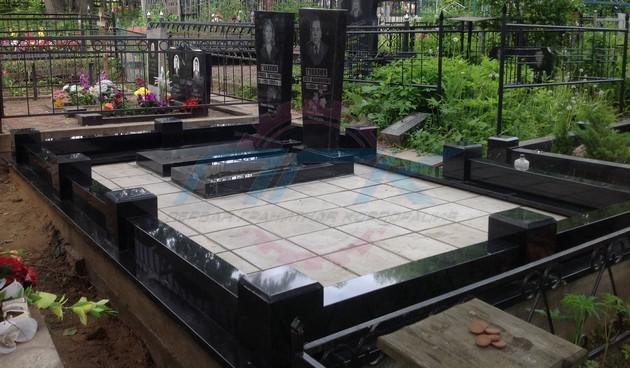 могила с новым памятником