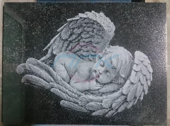 гравировка ангел фото