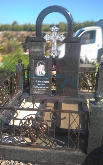 пример гравировки креста