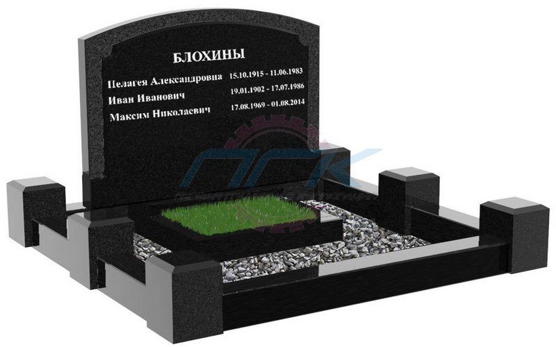 пример макета памятника