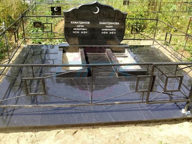 применение плитки для могил
