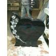 Памятник с сердцем и розой ЭРП69