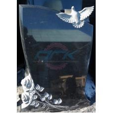 Памятник с голубем и розой ЭРП94