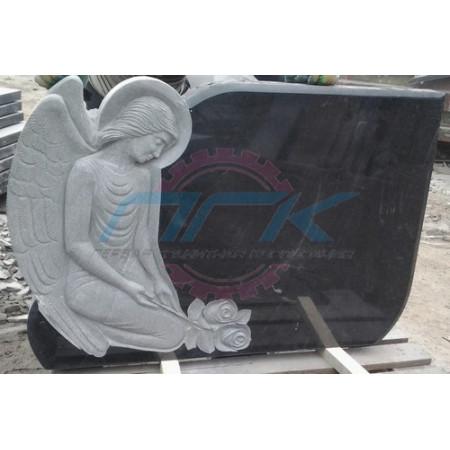 Памятник со скорбящим ангелом ЭРП42