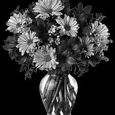 Цветок №23
