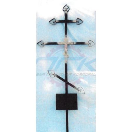 Кованый крест №3