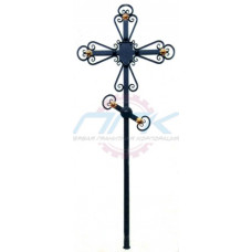 Кованый крест №8