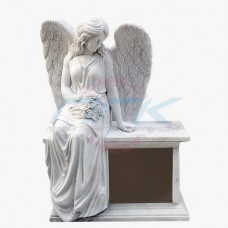 "Скульптура ""Ангел на постаменте, малый"""