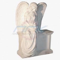 """Скульптура """"Ангел на постаменте """""""