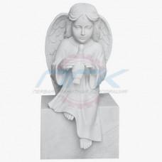 """Скульптура """"Ангел с голубкой"""""""