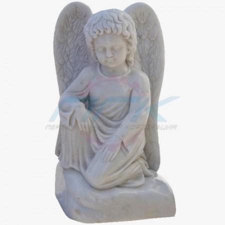 "Скульптура ""Ангелочек на облаке"""