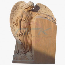 "Памятник из мрамора ""Ангел у надгробной плиты"""