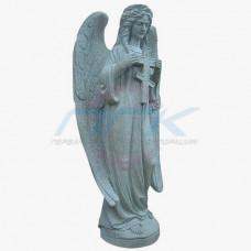 """Скульптура """"Ангел с православным крестом"""""""