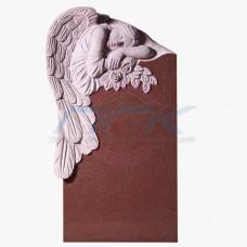 """Скульптура """"Ангел с розой (красный)"""""""