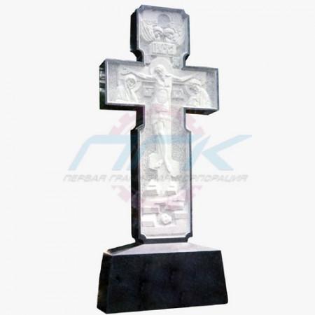 """Крест """"Православный на низком постаменте"""""""