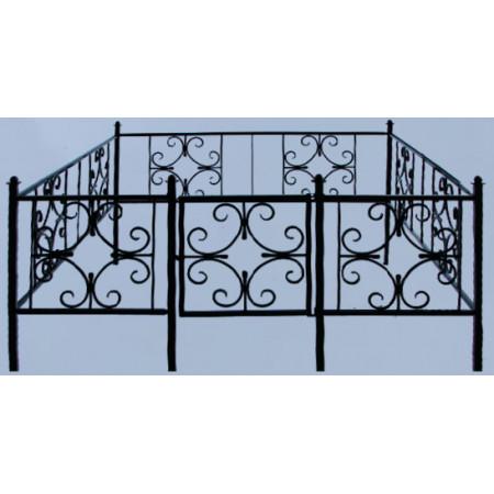 Ограда с ковкой №32